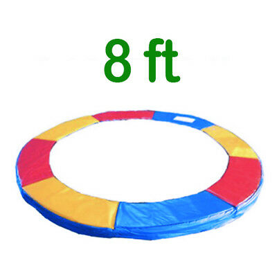 £36.95 • Buy Trampoline Replacement Pad Safety Padding Spring Cover 8ft Tri-Colour