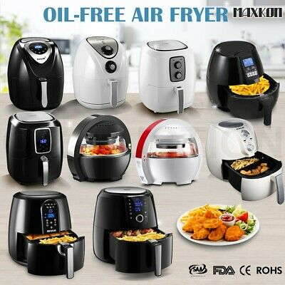 AU94.95 • Buy Maxkon Air Fryer Roast Grill Bake Low Fat Healthy Kitchen Fast Oven Cooker