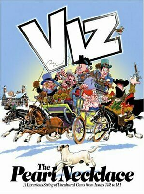The Pearl Necklace: Viz Annual By Viz Hardback Book The Cheap Fast Free Post • 4.49£