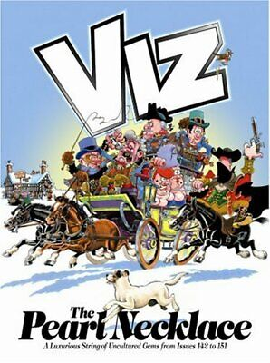 The Pearl Necklace: Viz Annual By Viz Hardback Book The Cheap Fast Free Post • 3.68£