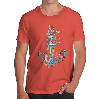 Twisted Envy Men's Anchor Lost At Sea T-Shirt • 12.99£