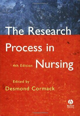 The Research Process In Nursing: Fourth Edition Paperback Book The Cheap Fast • 4.49£