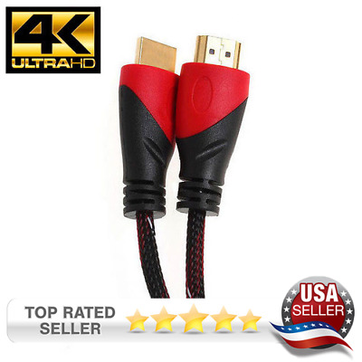 $ CDN13.91 • Buy 25ft Hdmi Cable Arc For 4k Tv Ps4 Bluray Pc Ethernet 1080p Usa
