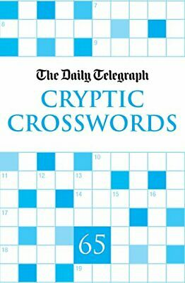 £13.99 • Buy Daily Telegraph Cryptic Crosswords 65 By Telegraph Group Limited Paperback Book