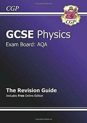 £1.99 • Buy GCSE Physics AQA Revision Guide (with Online Edition) By CGP Books Paperback The
