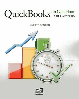 £35.36 • Buy QuickBooks In One Hour For Lawyers By Lynette Benton (2014)