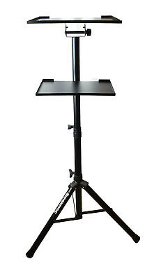 AU99 • Buy Tripod Adjustable Workstation Stand With Tray For Notebook Computer Projector