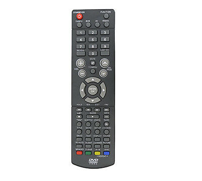 Genuine Replacement Remote Control For Logik L19LDVB19 LED LCD TV DVD Player • 5.70£