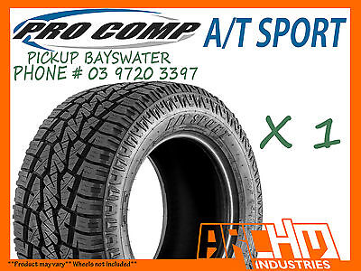 AU315 • Buy 265/75/16 Pro Comp A/t Sports All Terrain Tyres 4wd/suv/lt - Pickup Bayswater