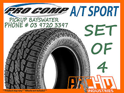 AU1540 • Buy (set Of 4) 305/70r16 Pro Comp A/t Sports All Terrain Tyres - Pickup Bayswater