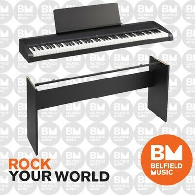 AU749 • Buy Korg B2 Digital Electric Natural Weighted Stage Concert Piano Black Wooden Stand