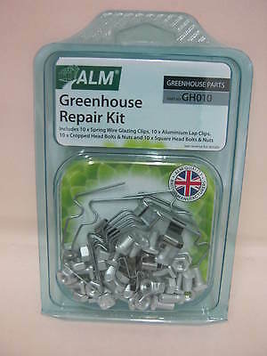 £6.49 • Buy ALM Greenhouse Service Repair Kit Spring Wire Glazing Clips GH010