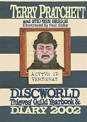 £47.70 • Buy Discworld Thieves' Guild Yearbook & Diary 2002 By Stephen Briggs Hardback Book