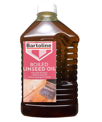 Bartoline Boiled Linseed Oil 2 Litre Gives A Sheen Use Internally Or Externally • 15.99£