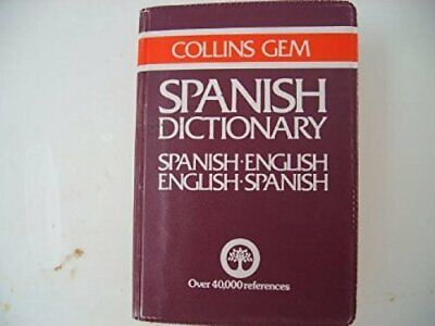 Spanish-English, English-Spanish Dictionary (Gem Dic By Mike Gonzalez 0004586476 • 4.49£