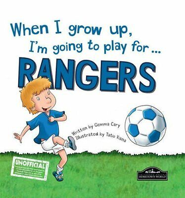 £3.29 • Buy When I Grow Up I'm Going To Play For Rangers By Gemma Cary Book The Cheap Fast
