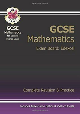 £3.59 • Buy GCSE Maths Edexcel Complete Revision & Practice With Online Edit... By CGP Books