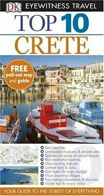 DK Eyewitness Top 10 Travel Guide: Crete By Gauldie, Robin Paperback Book The • 3.99£