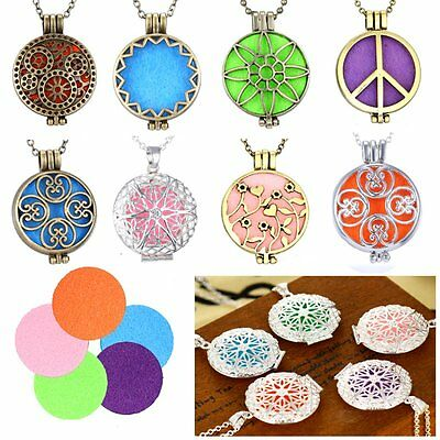 AU2.13 • Buy NEW Fragrance Essential Oil Aromatherapy Diffuser Necklace Floating Charm Locket
