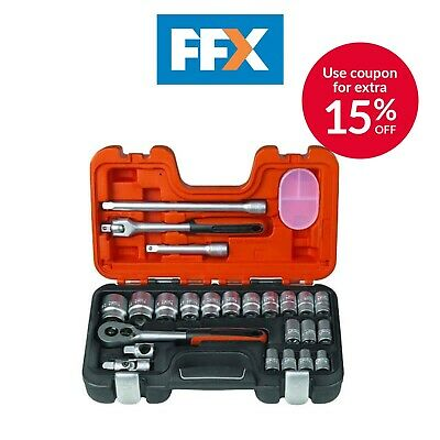 £54.95 • Buy Bahco S240 24 Piece Socket Set 1/2  Square Drive