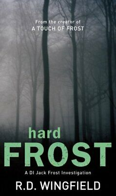 Hard Frost: (DI Jack Frost Book 4) By Wingfield, R D Paperback Book The Cheap • 3.99£