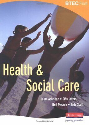 £4.99 • Buy BTEC First Health And Social Care Student Book By Scott, Jade Paperback Book The