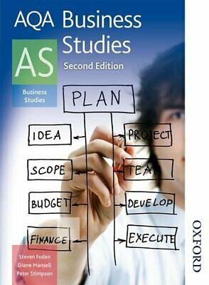 AQA Business Studies AS By Mansell, Diane Book The Cheap Fast Free Post • 6.49£