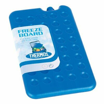 2 X Thermos Freeze Board Ice Pack Block 400g For Cool Bag Chill Box Cooler • 8.35£