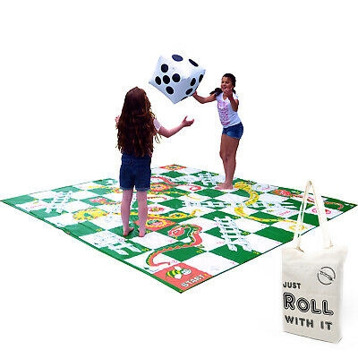 £45.99 • Buy Giant Snakes And Ladders Outdoor Garden Game Extra Large 3 X 3m Floor Mat