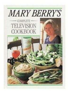 £4.99 • Buy Mary Berry's Complete Television Cookbook By Berry, Mary Book The Cheap Fast