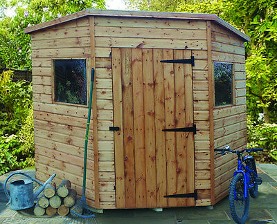 The Malvern Collection Bewdley Corner Garden Shed Delivered And Installed • 1,170£