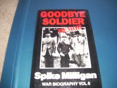 Goodbye Soldier (War Biography S.) By Milligan, Spike Hardback Book The Cheap • 5.99£