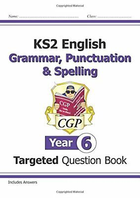 £3.59 • Buy KS2 English Targeted Question Book: Grammar, Punctuation & Spell... By CGP Books