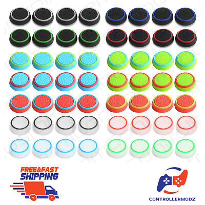 £2.49 • Buy 4x Rubber Stick Cover Thumb Grip Caps For PS3 PS4 Xbox One 360 Analog Controller