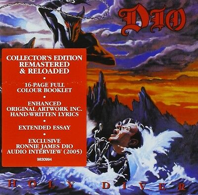 DIO - HOLY DIVER: COLLECTOR'S EDITION CD ALBUM (2005 Remastered Edition) • 5.85£