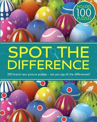 £5.49 • Buy Spot The Difference By Parragon Paperback Book The Cheap Fast Free Post