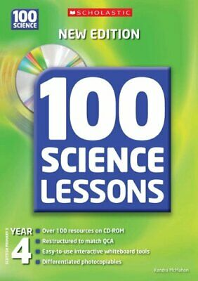 100 Science Lessons For Year 4 With CD... By McMahon, Kendra Mixed Media Product • 5.99£