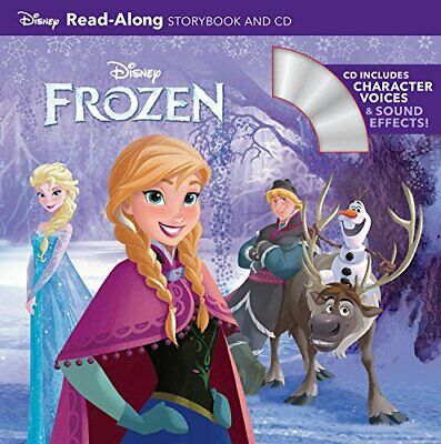 Frozen (Read-Along Storybook And CD) By Disney Book Group Book The Cheap Fast • 5.99£