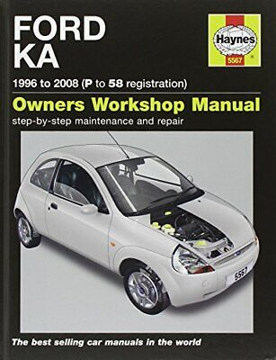 Ford Ka Service And Repair Manual: 96-08 (Haynes Service And... By Storey, M. R. • 12.09£