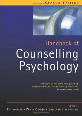 Handbook Of Counselling Psychology Paperback Book The Cheap Fast Free Post • 9.99£
