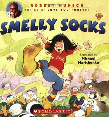 £3.99 • Buy Smelly Socks By Munsch, Robert N. Book The Cheap Fast Free Post