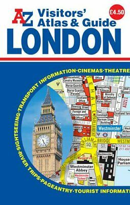 £5.49 • Buy London Visitors Atlas By Geographers A-Z Map Company Ltd Book The Cheap Fast