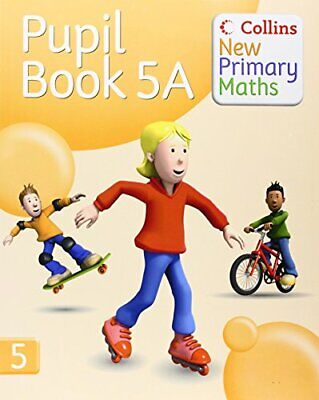 Collins New Primary Maths �  Pupil Book 5A: Engaging, Differentiat... Paperback • 7.49£