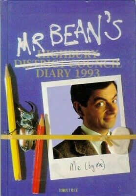 £3.59 • Buy Mr. Bean's Diary 1993 By Driscoll, Robin Paperback Book The Cheap Fast Free Post