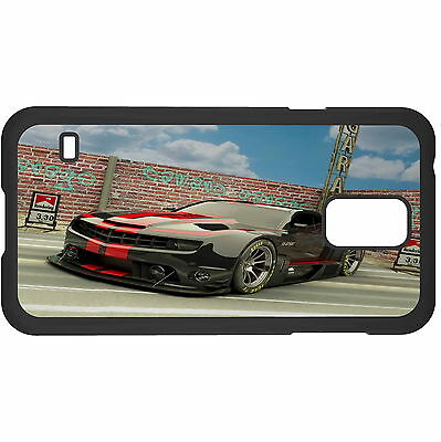 Racing Black Car Hard Case Cover For Samsung New • 6.49AU