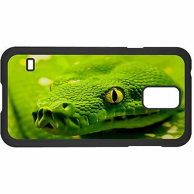 Green Snake Hard Case Cover For Samsung New • 6.49AU