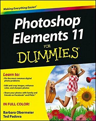 £3.99 • Buy Photoshop Elements 11 For Dummies By Padova, Ted Book The Cheap Fast Free Post