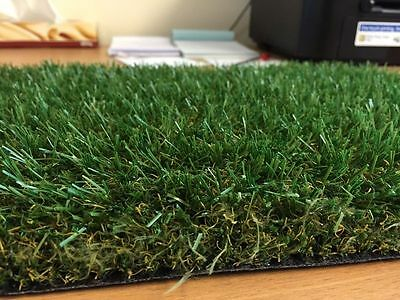 £38 • Buy 30mm Luxury Artificial Grass, Cheap High Quality Astro Lawn Green Fake Turf