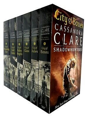 Cassandra Clare The Mortal Instruments Series Collection 6 Books Set Young Adult • 19.99£