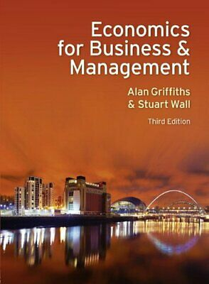 £5.49 • Buy Economics For Business And Management By Wall, Stuart Paperback Book The Cheap